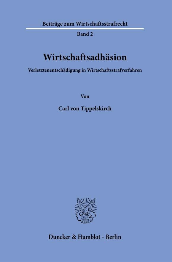 Cover Wirtschaftsadhäsion