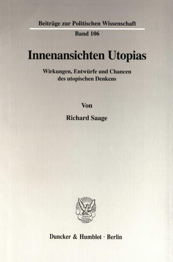 Cover Innenansichten Utopias
