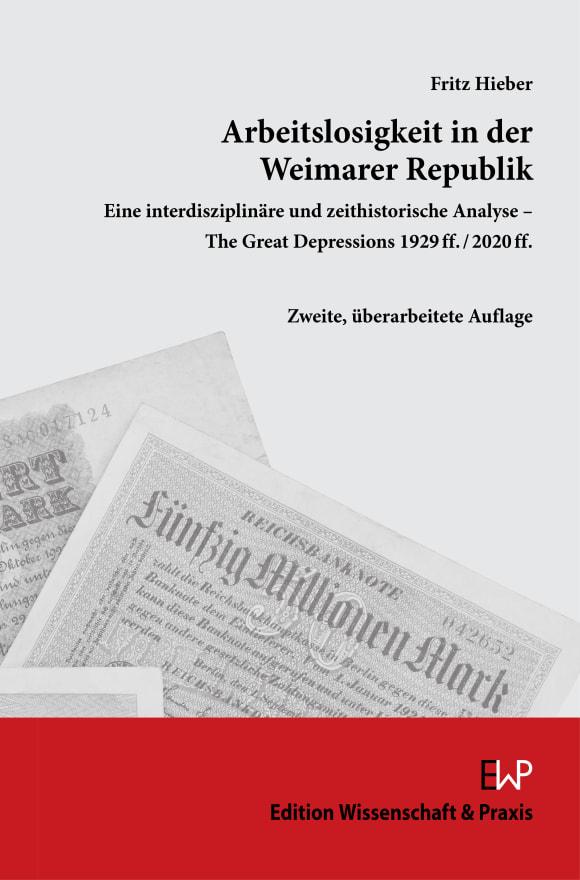 Cover Arbeitslosigkeit in der Weimarer Republik