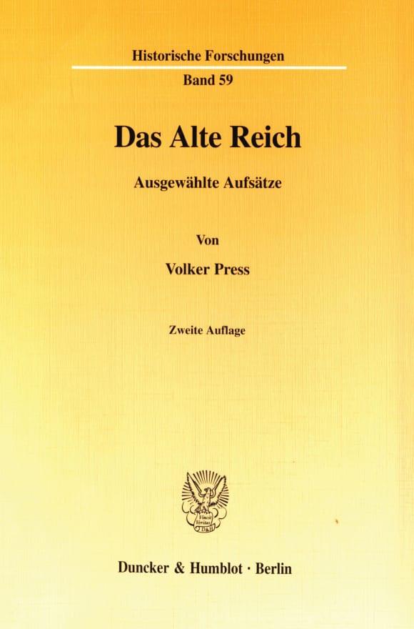 Cover Das Alte Reich