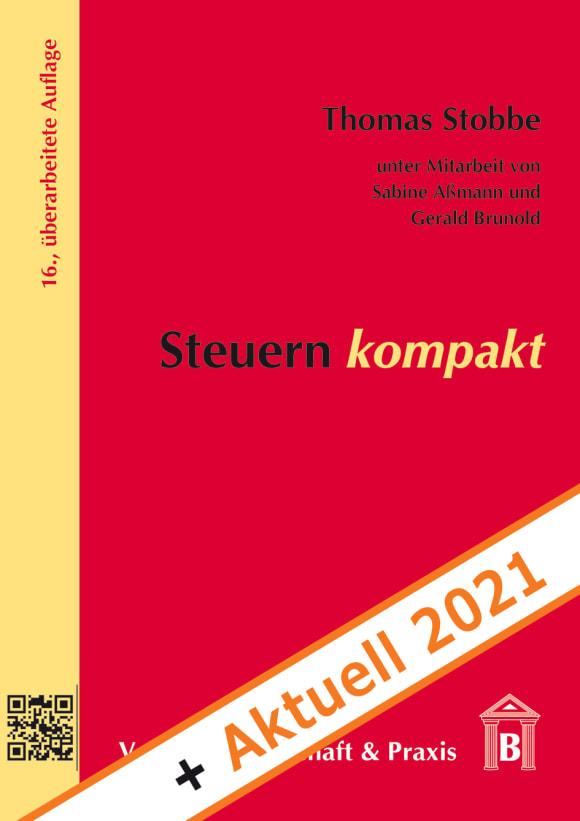 Cover Steuern kompakt + Aktuell 2021