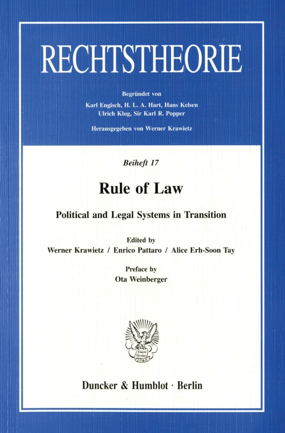 Cover Rule of Law