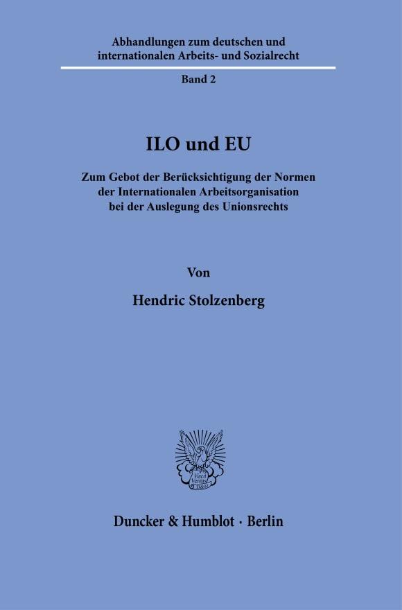 Cover ILO und EU