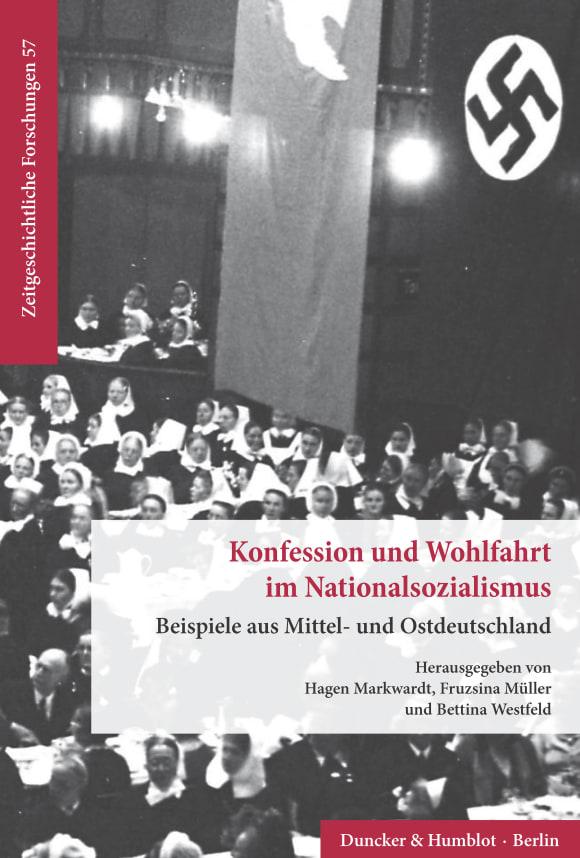 Cover Konfession und Wohlfahrt im Nationalsozialismus