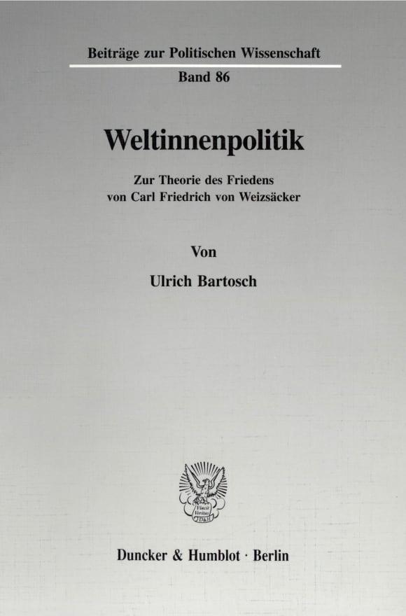 Cover Weltinnenpolitik