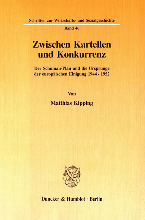 Cover Zwischen Kartellen und Konkurrenz