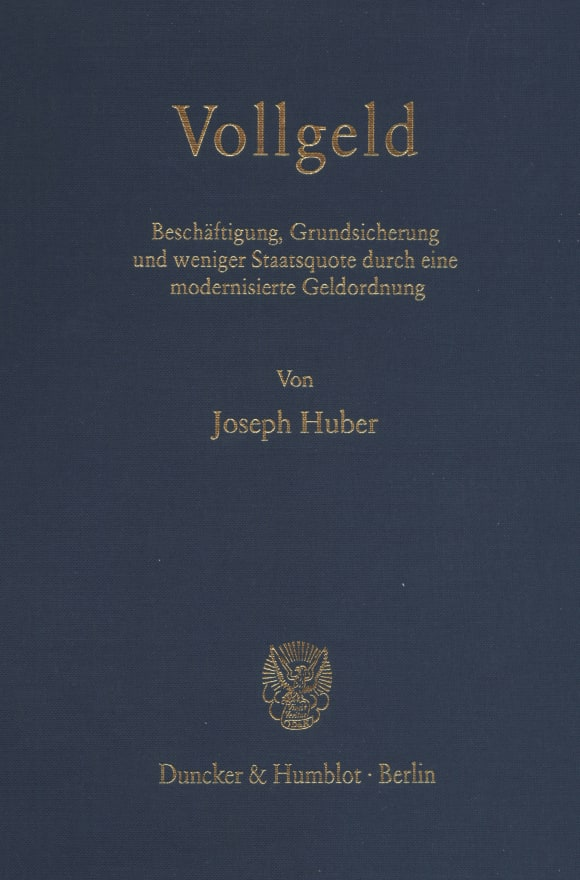Cover Vollgeld