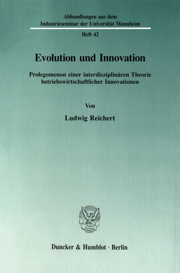 Cover Evolution und Innovation