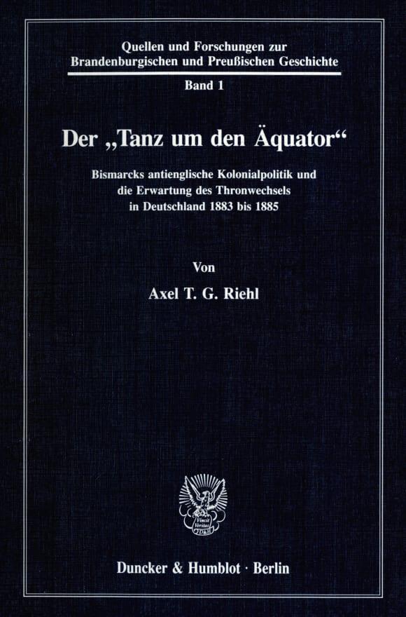 Cover Der »Tanz um den Äquator«