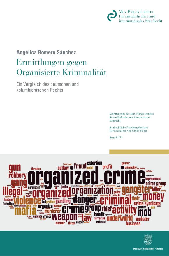Cover Ermittlungen gegen Organisierte Kriminalität