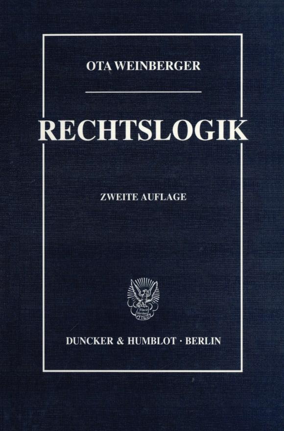 Cover Rechtslogik