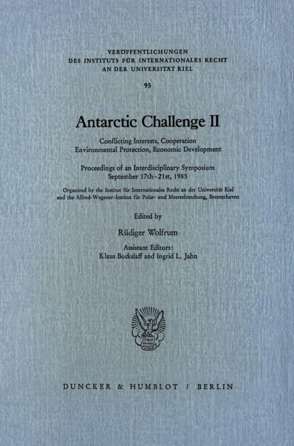 Cover Antarctic Challenge II