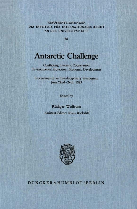 Cover Antarctic Challenge