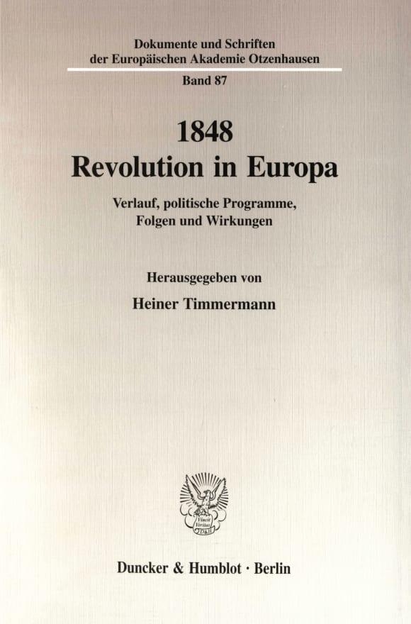Cover 1848 - Revolution in Europa