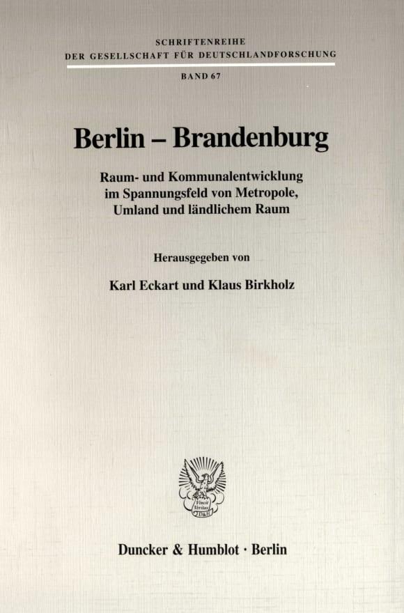 Cover Berlin - Brandenburg
