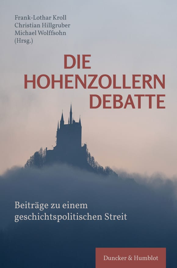 Cover Die Hohenzollerndebatte