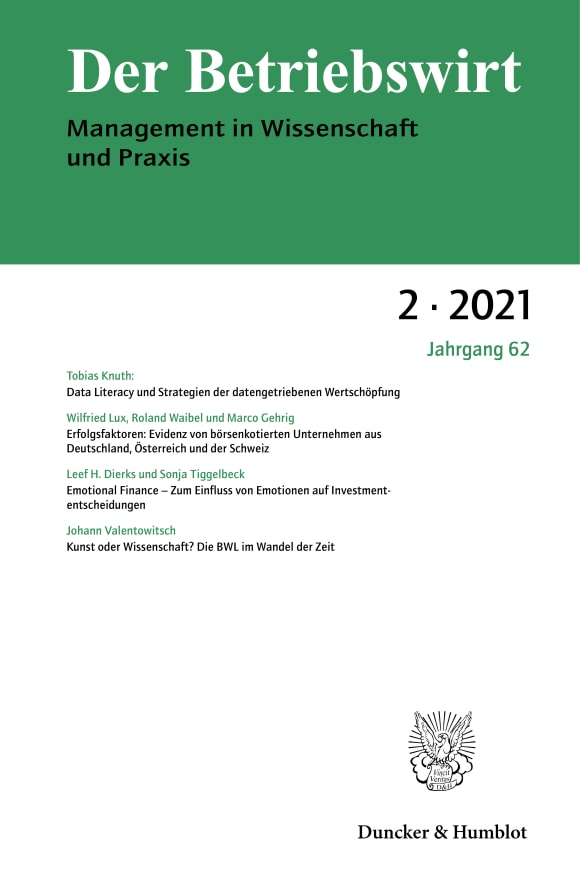Cover DBW 2/2021