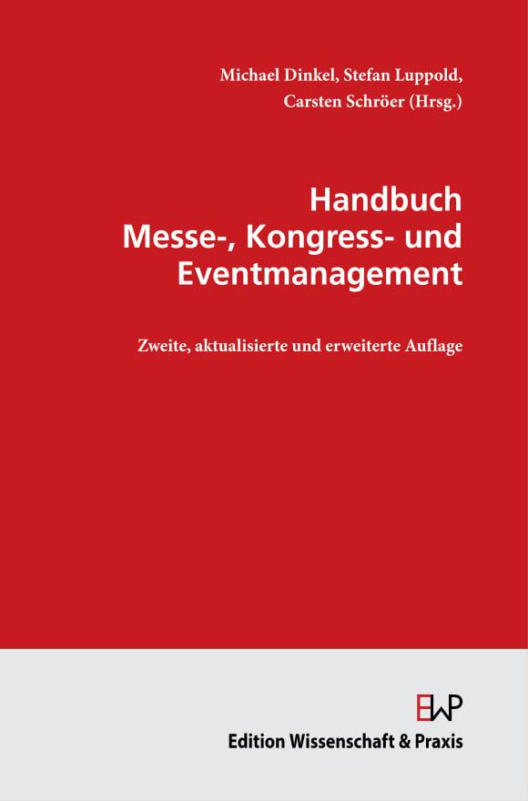 Cover Handbuch Messe-, Kongress- und Eventmanagement