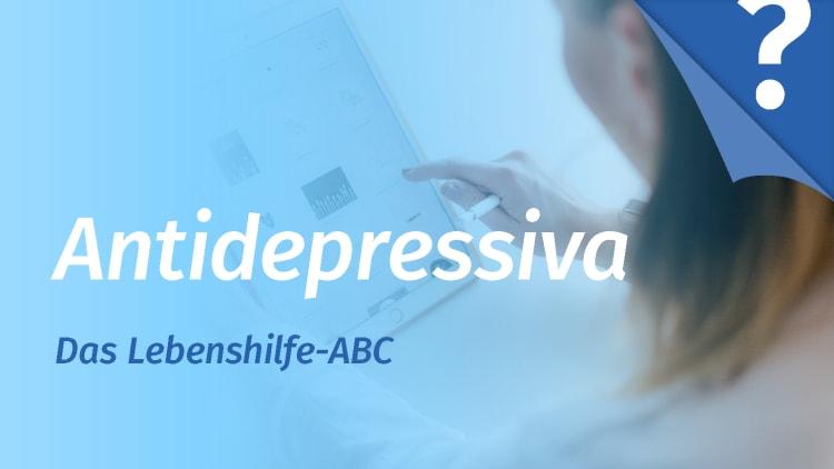 Nebenwirkungen antidepressiva ohne sexuelle Antidepressiva Medikamente