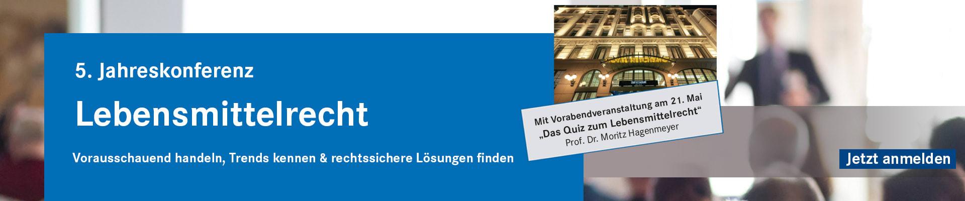 5. Jahreskonferenz LMR