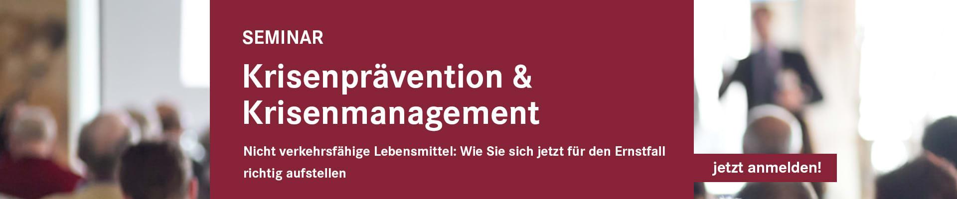 Krisenprävention & Krisenmanagement 7206-00