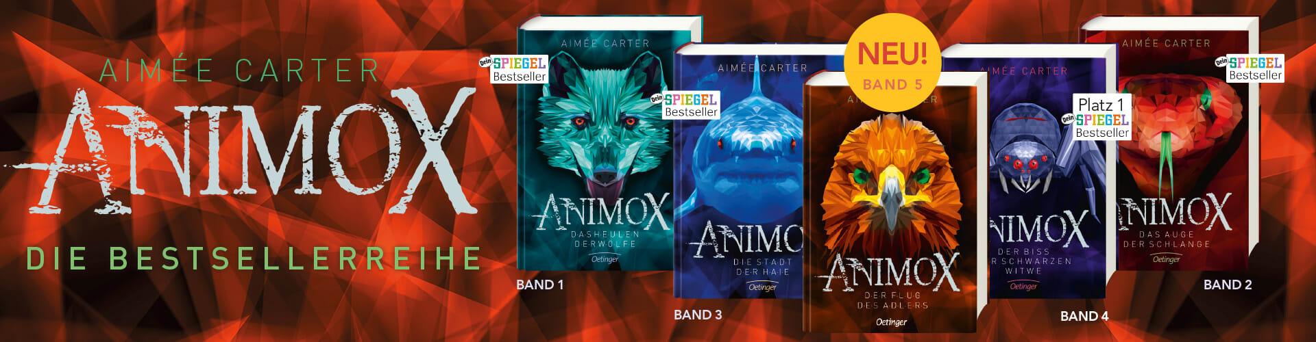 Aimee Carter. Animox. Die Spiegel-Bestsellerreihe