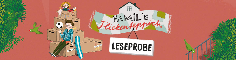 Stefanie Taschinski Familie Flickenteppich – Wie ziehen ein. Leseprobe