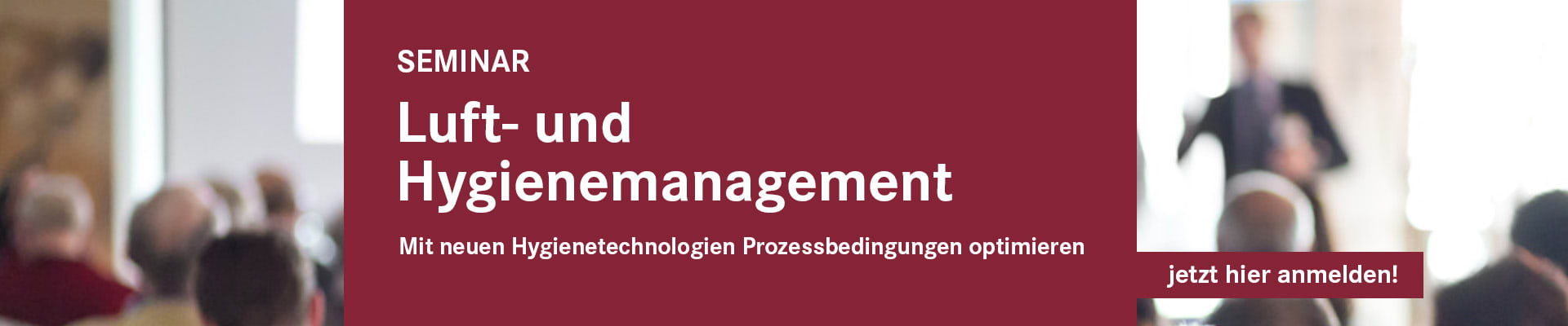 Luft- und Hygienemanagement