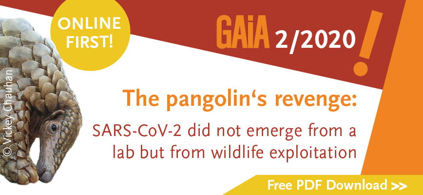 Download essay: The pangolin's revenge: SARS-CoV-2 did not emerge from a lab but from wildlife exploitation