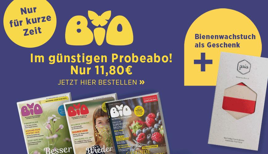 Zum Probeabo-Angebot der BIO