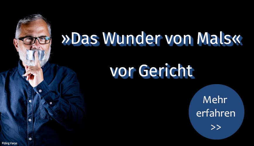 Zur Themenseite über Mals und den Prozess gegen oekom-Autor Alexander Schiebel