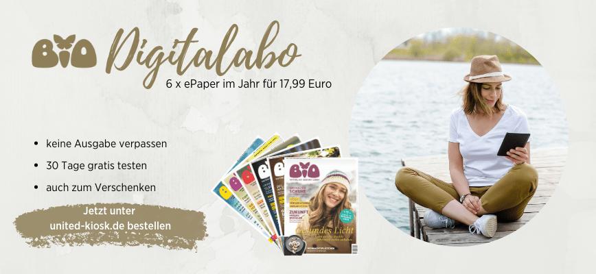 Das BIO Digitalabo: weiter zu united-kiosk.de