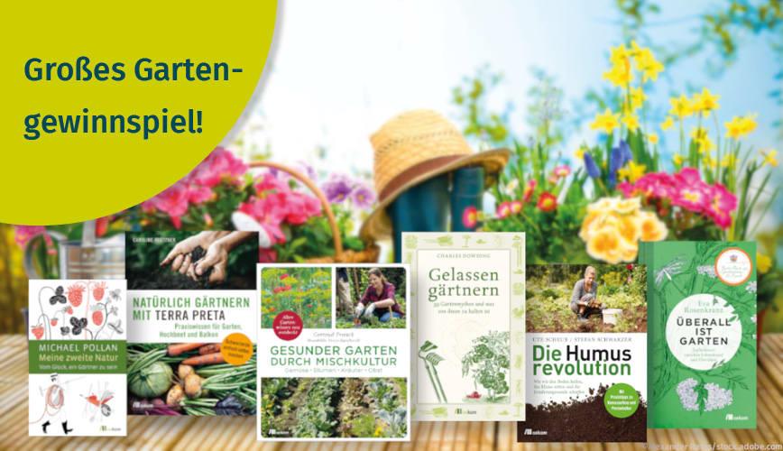 zum Gartengewinnspiel