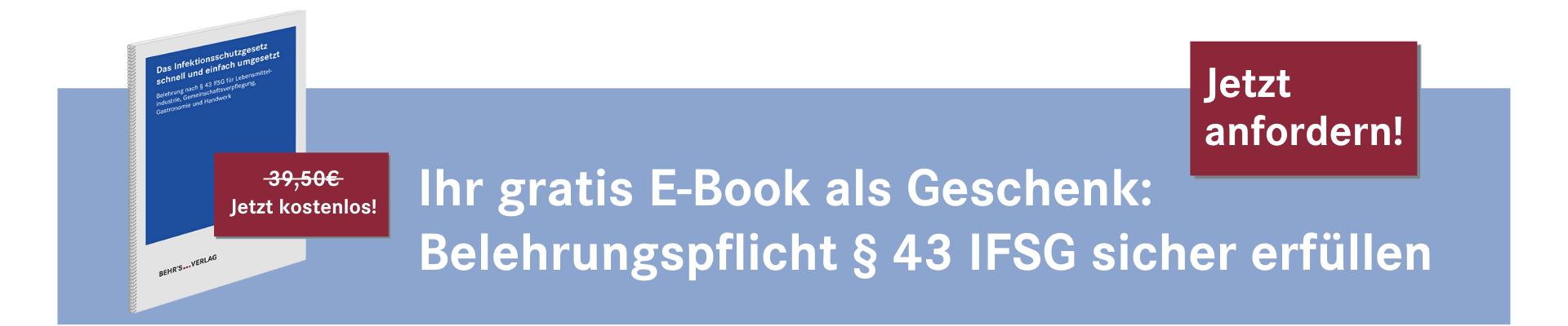 Jetzt anmelden und gratis E-Book sichern!