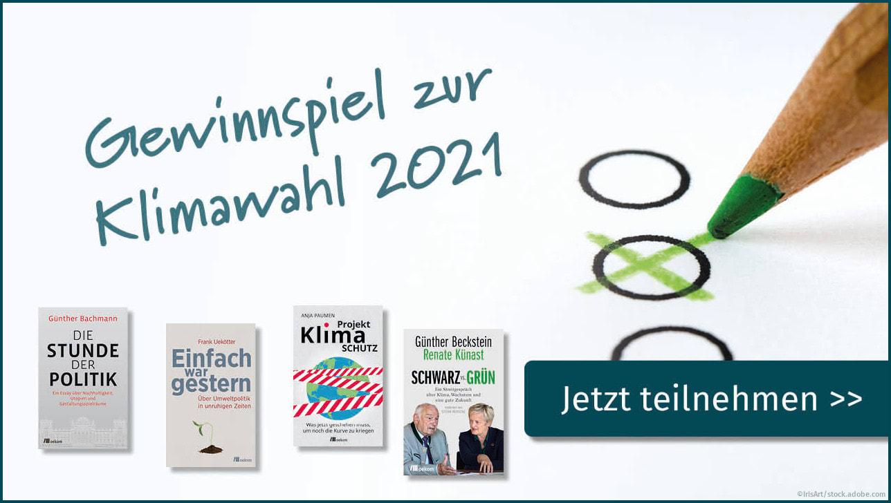 Gewinnen Sie Bücher zur Bundestagswahl 2021