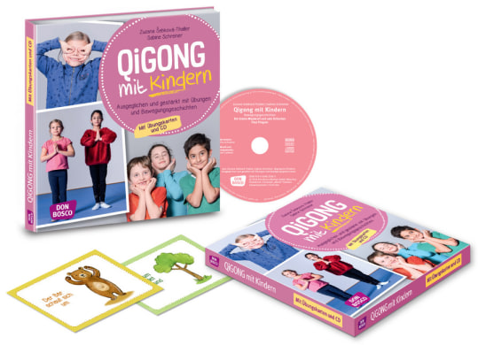 Qigong mit Kindern, m. Audio-CD