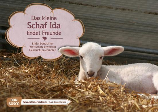 Das kleine Schaf Ida findet Freunde. Kamishibai Bildkartenset.