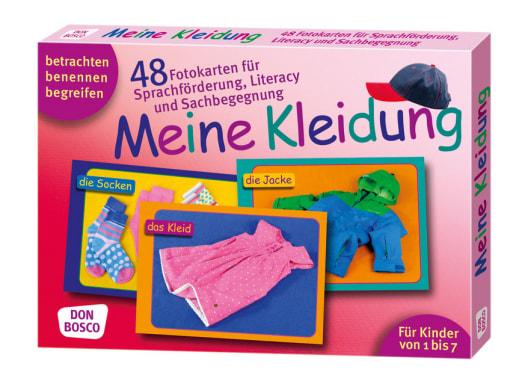 Meine Kleidung. 48 Fotokarten für Sprachförderung, Literacy und Sachbegegnung