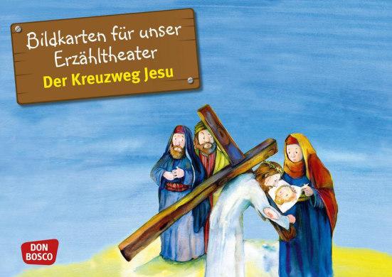 Der Kreuzweg Jesu. Kamishibai Bildkartenset.