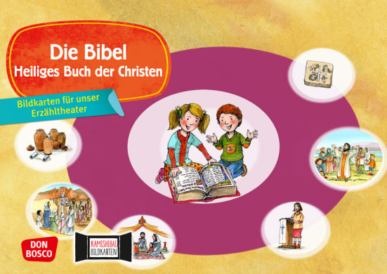 Die Bibel. Kamishibai Bildkartenset.