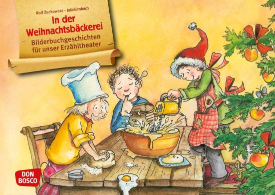 In der Weihnachtsbäckerei. Kamishibai Bildkartenset.