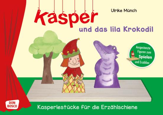 Kasper und das lila Krokodil.