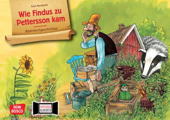 Wie Findus zu Pettersson kam. Kamishibai Bildkartenset.