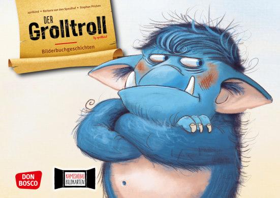 Der Grolltroll by aprilkind. Kamishibai Bildkartenset.