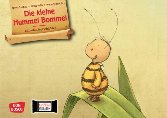 Die kleine Hummel Bommel. Kamishibai Bildkartenset.