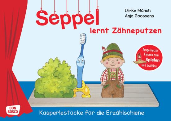 Seppel lernt Zähneputzen.