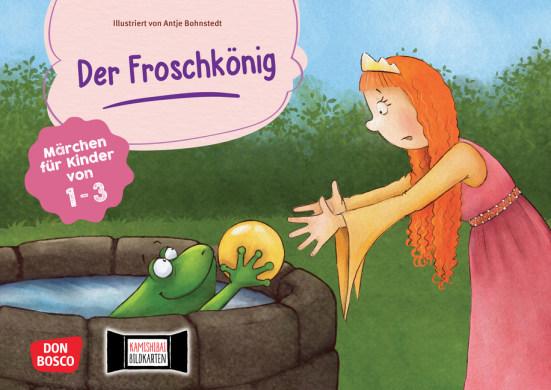 Der Froschkönig. Kamishibai Bildkartenset.