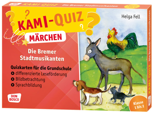 Kami-Quiz Märchen: Die Bremer Stadtmusikanten