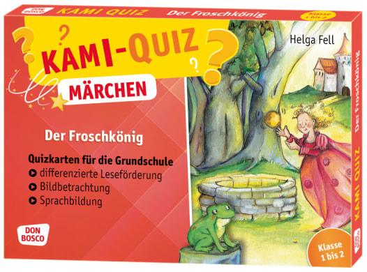 Kami-Quiz Märchen: Der Froschkönig