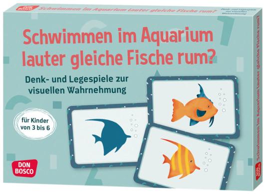 Schwimmen im Aquarium lauter gleiche Fische rum?